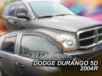 Plexi, ofuky Dodge Durango 5D 2004=> přední + zadní