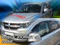 Plexi, ofuky Dodge Journey 5D 2008 => přední + zadní
