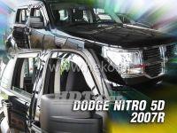 Plexi, ofuky Dodge Nitro 5D 2007 => přední + zadní