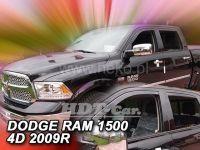 Plexi, ofuky Dodge Ram 4D 2009r =>, přední + zadní