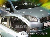 Plexi, ofuky Fiat Linea 4D, od 2007 =>, 4ks přední + zadní HDT