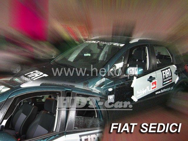 Plexi, ofuky Fiat Sedice 5D 2007 =>, přední heko