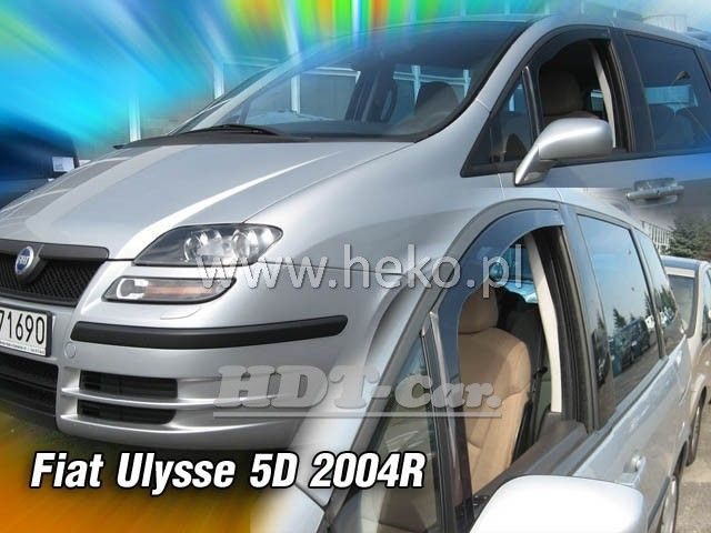 Plexi, ofuky Fiat Ulysse 5D 2003--07, přední HDT