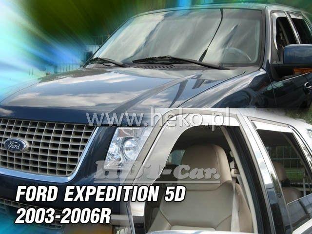 Plexi, ofuky Ford Expedition 5D 2003-2006 přední + zadní HDT