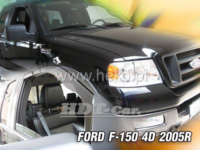 Plexi, ofuky Ford F-150 2005 =>, přední heko