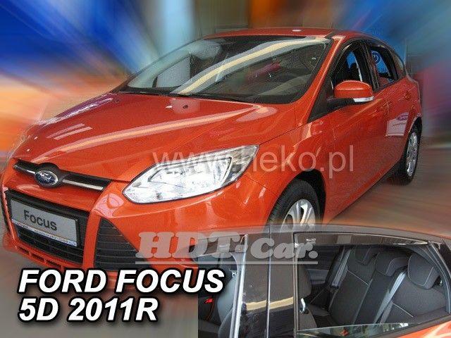 Plexi, ofuky FORD Focus htb, sedan, 5dv 2011r a dál, přední + zadní heko