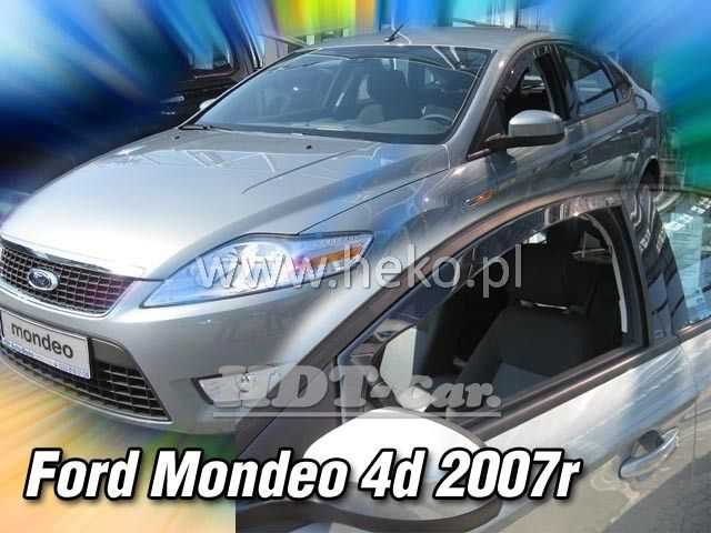 Plexi, ofuky Ford Mondeo 2007r =>, 5dv., 2ks přední heko