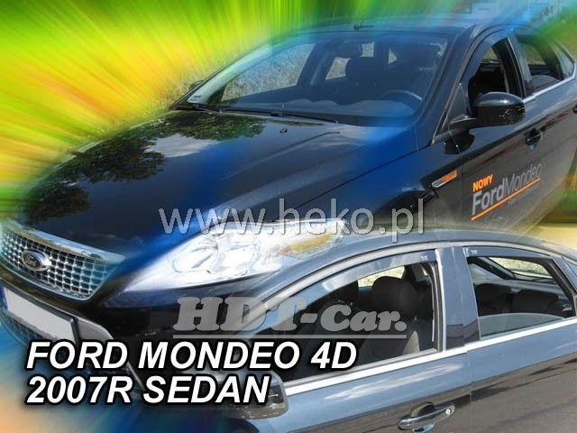 Plexi, ofuky Ford Mondeo 4/5D 2007 => htb/sedan přední + zadní HDT