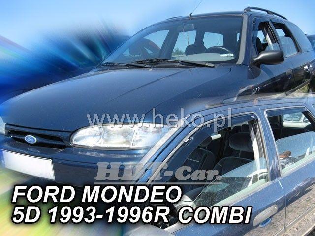 Plexi, ofuky Ford Mondeo 4D 1993-1996 combi přední + zadní HDT