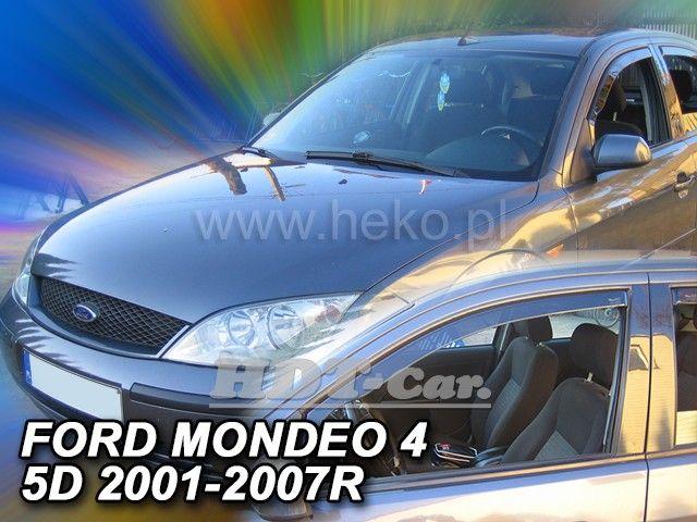 Plexi, ofuky Ford Mondeo 4D 2001 =>, přední HDT