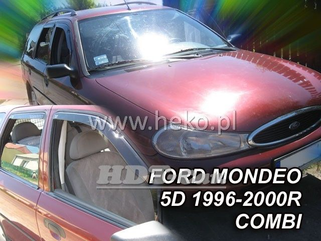 Plexi, ofuky Ford Mondeo 96-2000r combi 4dv, přední + zadní heko