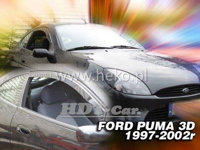 Plexi, ofuky Ford Puma 3D 97-02r přední heko