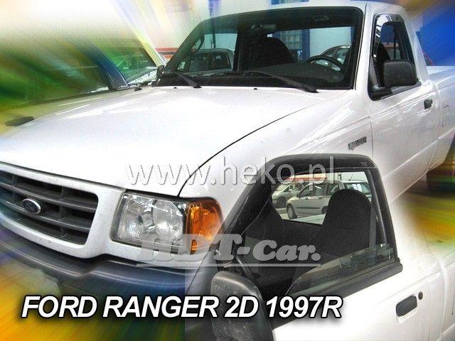Plexi, ofuky Ford Ranger Pic-up 2/4D 1997 =>, přední heko