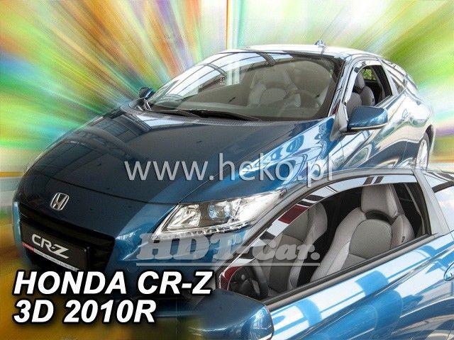 Plexi, ofuky Honda CR-Z 3D 2010 =>, přední heko