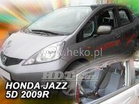 Plexi, ofuky Honda Jazz 5D 2009 =>, přední HDT