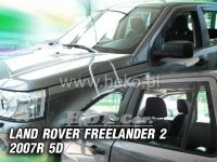 Plexi, ofuky Land Rover Freelander II 5D. 2007 =>, sada