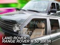 Plexi, ofuky Land Rover Range Rover III, 2002 =>, sada 4ks