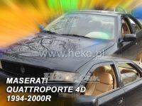 Plexi, ofuky MASERATI Quattroporte 4D, 94-2000, přední + zadní