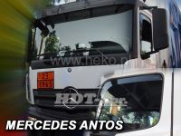 Plexi, ofuky Mercedes Antos 2012=> přední