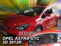 Plexi, ofuky OPEL Astra GTC 3D, 2010 => přední