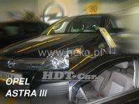 Plexi, ofuky OPEL Astra III H 5D, 2004 =>, přední