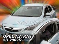Plexi, ofuky OPEL Astra IV 5D, 2009 =>, přední
