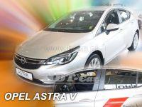 Plexi, ofuky Opel Astra V K 5D 2015 htb =>, přední + zadní