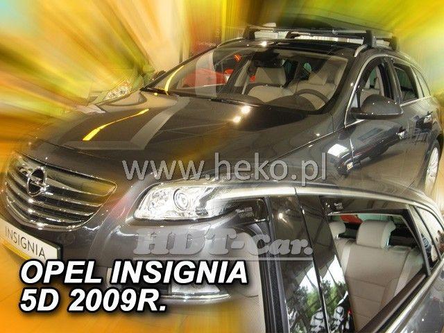 Plexi, ofuky OPEL Insignia combi 4D, 2009 =>, přední + zadní heko