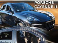 Plexi, ofuky Porsche Cayenne 5D 10R =>, přední + zadní