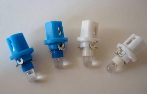 LED žárovka do palubní desky sada 2ks, bílá, modrá Vyrobeno v EU