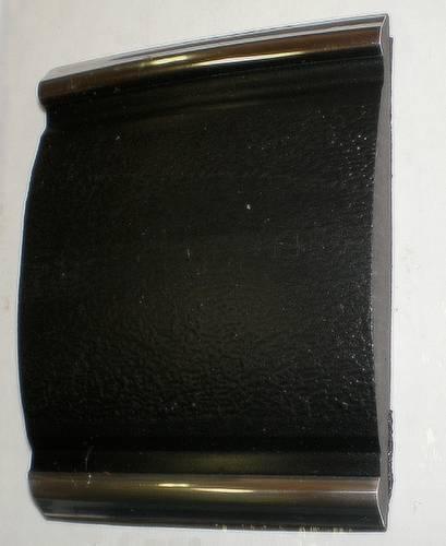 Ochranna lišta nárazníků nalepovací černo-chrom 20m iz