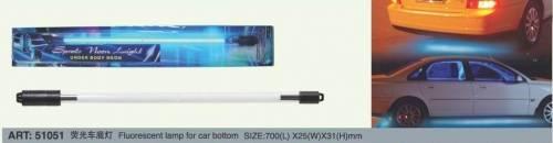 Neonová trubice 380mm - rozdělená na barevné třetiny