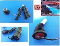 Led žárovka interierová 12V/24V s ohebným krkem modrá
