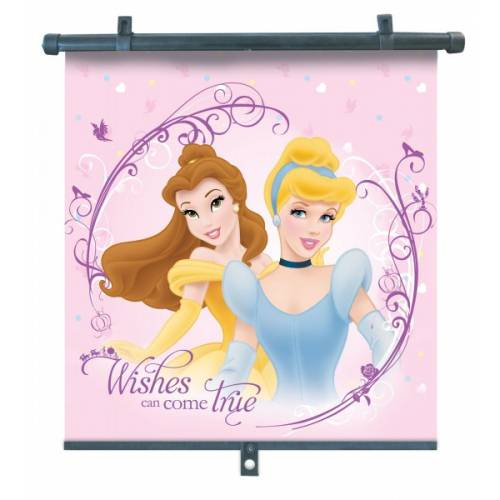 SLUNEČNÍ CLONY roletky pro boční sklo Princess 2ks Disney