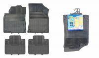 Univerzální gumové koberečky (rohožka) autokoberce 4ks typ A Vyrobeno v EU