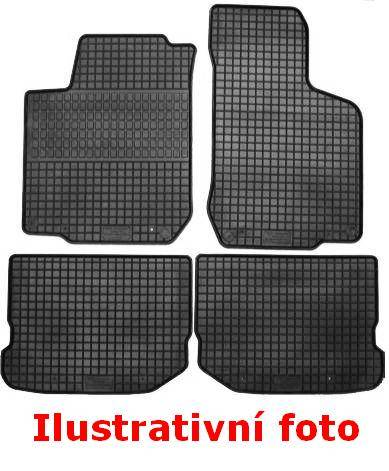 Přesné na míru gumové koberce na GOLF V(03-09)a VI (09-),JETTA (05-),SCIROCCO (07-) gumarny