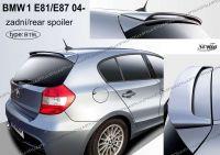 Zadní spoiler zadní pro BMW 1/E81, E87 2004r =>