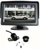 """Parkovací systém s kamerou a 4,3"""" monitorem"""