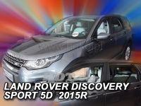 Plexi, ofuky Land Rover Discovery Sport 5D 2014r =>, přední + zadní 4ks