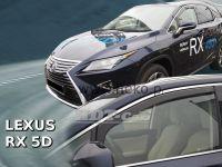 Plexi, ofuky Lexus RX 5D 2016r =>, přední