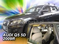 Plexi, ofuky Audi Q5 5D 2009 =>, přední + zadní HDT