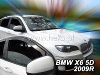 Plexi, ofuky BMW X6 5D 2008 =>, přední HDT
