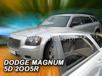Plexi, ofuky Dodge Magnum 5D 2005-2008r, přední + zadní