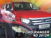 Protiprůvanové plexi, Ford Ranger 4D  2012r =>, 2ks predné