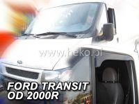 Deflektory na okná Ford Transit 2D 2000-2013r skrátenej deflektory OPK