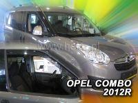 Protiprůvanové plexi, Opel Comdo C 2011r =>, 2ks přední