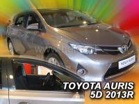 Protiprůvanové plexi, Toyota Auris 5D 2013r =>, 2ks predné