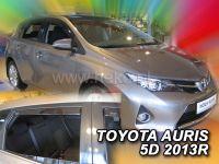 Protiprůvanové plexi, Toyota Auris 5D 2013r =>, 4ks predné+zadné