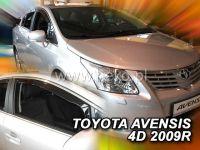 Protiprůvanové plexi, Toyota Avensis 4D 2009r =>, 2ks přední