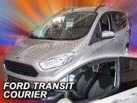 Protiprůvanové plexi, Ford Transit Courier 2/4D 2013r =>, 2ks predné